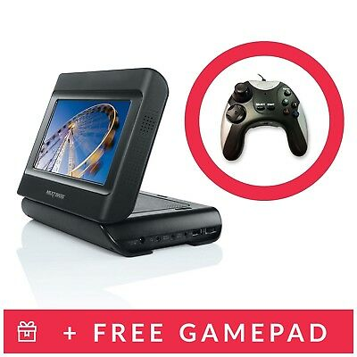 Nextbase 7 inch In Car Portable DVD Twin Player with Stanchion Mount Controllers