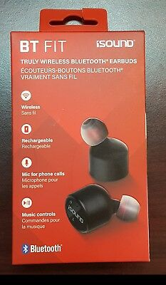 iSound BT FIT Truly Wireless Bluetooth Earbuds