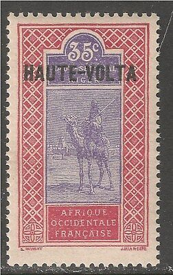 Burkina Faso #17 (A4) VF MNH - 1920 35c Camel and Rider