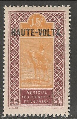 Burkina Faso #9 (A4) VF MNH - 1920 15c Camel and Rider