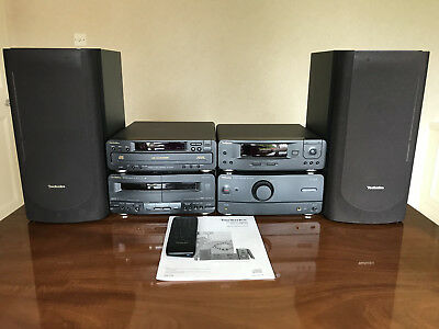 Technics Complete CD System Stereo SC-CH610 in black in full working order
