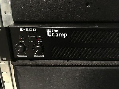 PA STEREO - endstufe // the t amp E - 800 // thomann endstufe // top!