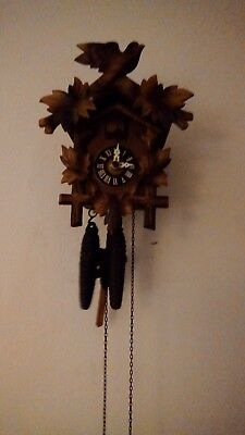 used cuckoo clock working excellent condition. German mechanical