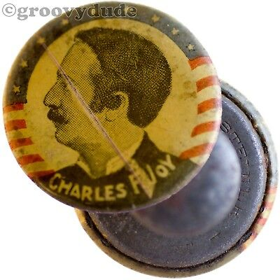 Charles F. Joy Missouri MO Vintage Political Campaign Pin Pinback Button Stud