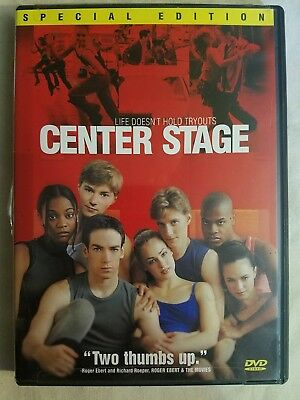 Center Stage [Special Edition] DVD, Combine Shipping and SAVE MONEY!!!