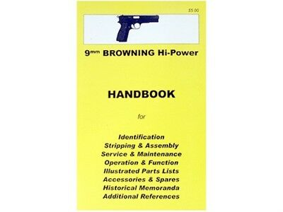 Browning Hi-Power Assembly, Disassembly Owner's Manual Handbook Used