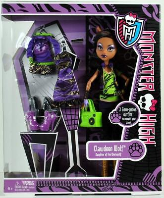 Monster High - Clawdeen Wolf I love Fashion inkl. 3 Outfits NEU & OVP
