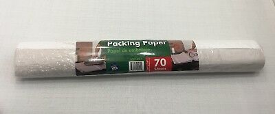 Packing Paper (70 Sheets) Moving Storage Shipping Dishes Ceramics Glass Fragile