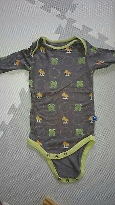 GUC Baby Boy Kickee Pants Long Sleeve One Piece Size 6-12 months