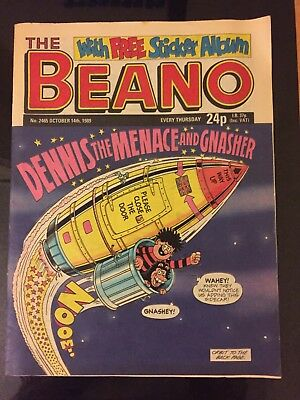 Beano comic 1989: Number 2465 October 14th 1989.