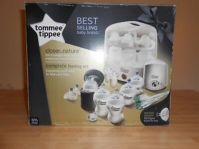 Closer to Nature Complete Feeding Set 423586 by Tommee Tippee