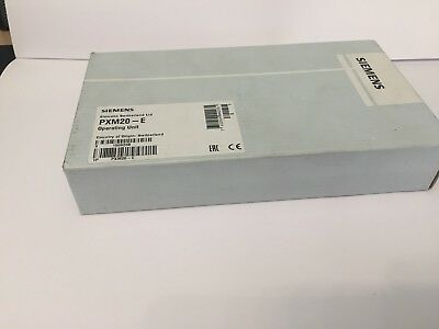 SIEMENS PMX20-E Operator unit with BACnet on IP New in OE packaging