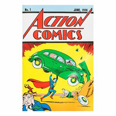 ACTION COMICS #1 Reprint -Official With certificate of Authenticy - LOOT CRATE