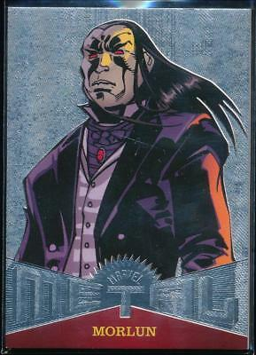 2017 Fleer Ultra Spider-Man Marvel Metal Trading Card #MM18 Morlun