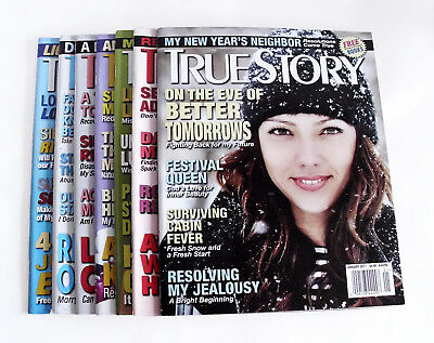 2017 True Story Magazine 7 issues January to July