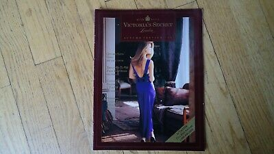 VINTAGE VICTORIA'S SECRET catalog autumn preview 1989 jill goodacre seymour