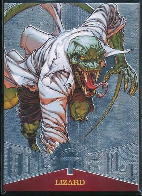 2017 Fleer Ultra Spider-Man Marvel Metal Trading Card #MM24 Lizard