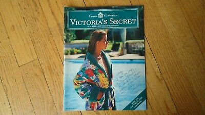 VINTAGE VICTORIA'S SECRET catalog cruise collection jill goodacre seymour