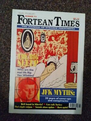 Fortean Times Issue 72