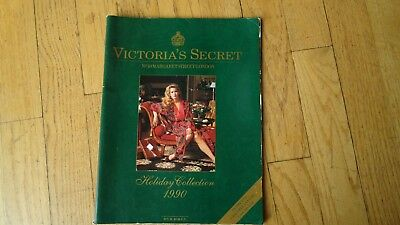 VINTAGE VICTORIA'S SECRET catalog holiday collection 1990 jill goodacre seymour