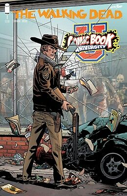 Walking Dead #1 15th Anniversary COMIC BOOK UNIVERSITY Variant Store Cover