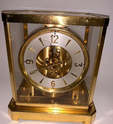 JAEGER LECOULTRE ATMOS 1960s Mantle Clock Serial #27141
