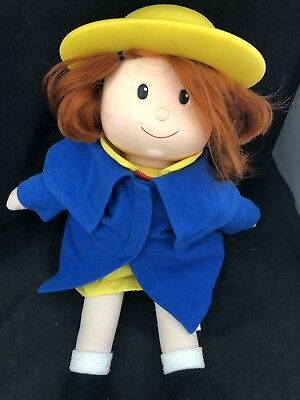 """Madeline Baby red head girl Doll 18"""" Cloth Vinyl Kids Gifts Talking 1998"""