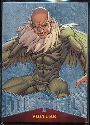 2017 Fleer Ultra Spider-Man Marvel Metal Trading Card #MM42 Vulture