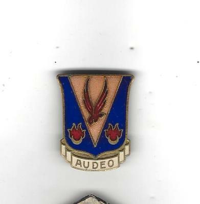 Smokin' WW2 French made 324th Fighter Group DI,pinback JEANNOT BEAUME patch-like