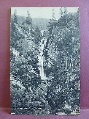 2 Old Postcards Upper & Middle Falls of Bruar Scotland, UK