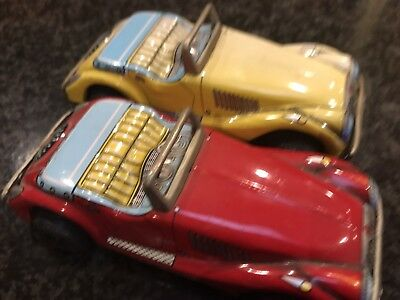 Japanese Tin Toy Cars