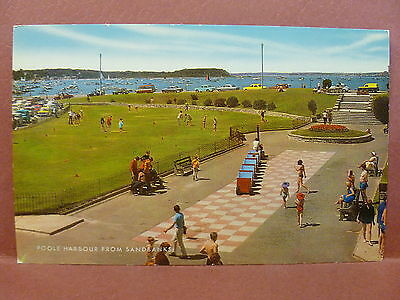 Old Postcard UK Poole Harbour from Sandbank