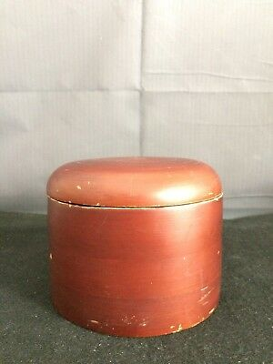An Asian Vintage Lacquer Covered Box