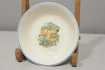 ANTIQUE Salem China Child‰Ûªs China Bowl Nursery PETER PUMPKIN EATER - BOWL 6
