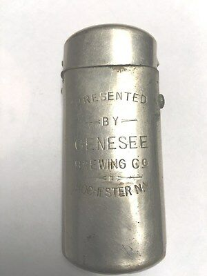 Old Genesee Brewing Co. Rochester NY Presentation Match Safe Match Holder