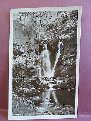 Old Real Photo Postcard RPPC Valley of Desolation Bolton Woods, UK