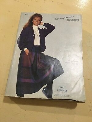 Vintage Fall And Winter Sears Catalog : 1984
