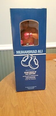 1981 McCormick's 15 Inch Hand Painted Porcelain Decanter MUHAMMAD ALI