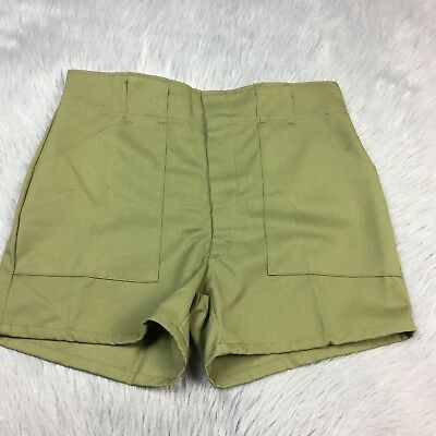 Vintage Boy Scouts Of America Uniform Shorts Sz 31 NOS