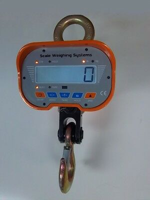 Scale Weighing Systems Heavy-Duty 20k LCD Display Crane Scale