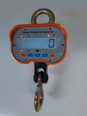Scale Weighing Systems Heavy-Duty 6k LCD Display Crane Scale