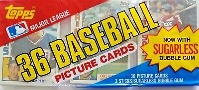 Topps Baseball cards - 1984 - 36 pack Unopened cards - Free Shipping