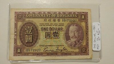 1935 Government Of Hong Kong One Dollar
