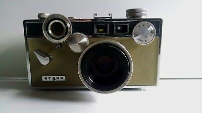 Nice Argus C-3 Camera with Case and Coated Cintar Lens