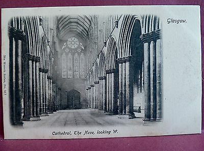 Lot of 4 Postcards: Glasgow Cathedral Scotland
