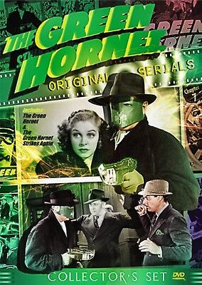 NEW 4DVD set - THE GREEN HORNET - 2 COMPLETE SERIALS - TOTALLY REMASTERED