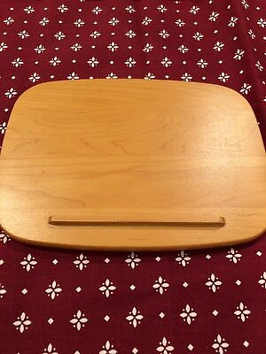 Longaberger Large Recipe Basket Wood Crafts Lid - Classic