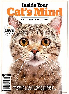 """""""INSIDE YOUR CAT'S MIND - What They Really Think""""  Magazine ~ Attachment ~ NEW"""