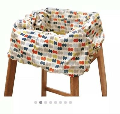Skip Hop Take Cover Shopping Cart & High Chair Cover Baby Accessory