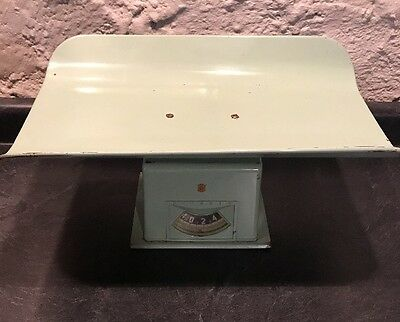 Vintage DETECTO Baby Scale made in USA 25 lbs Rare Green Color